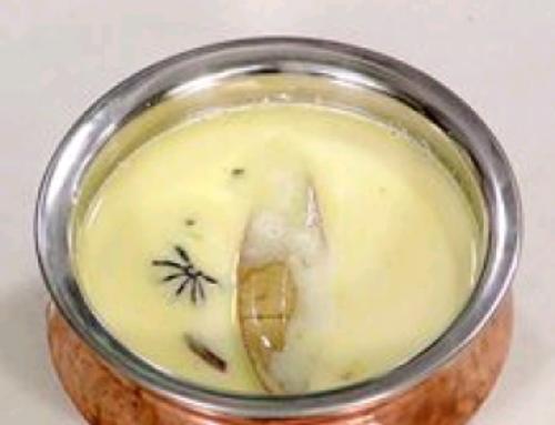 कोल्हापुरी पांढरा रस्सा #Recipe